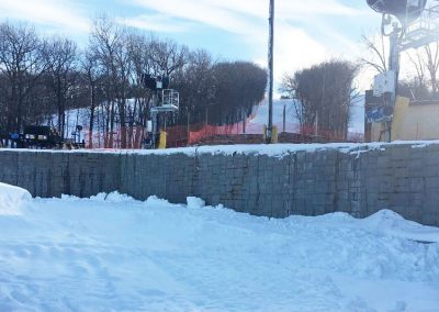 Cascade Mountain Ski Resort Retaining Walls