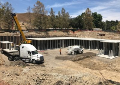 Gates Canyon Park Stormwater Retention System