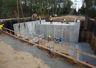 Gloucester County Bridge 5-B-5 Culvert-Wingwall