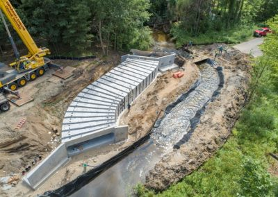 Calhoun County Halbert Road  20' x 5' Snake-Shaped Box Culvert