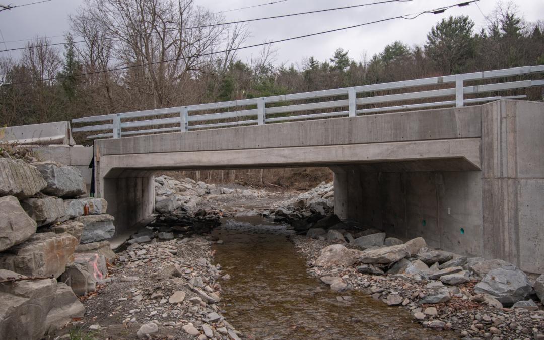 Long Creek Road 3-Sided Culvert