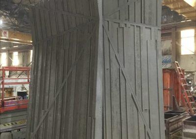 Hoboken NW Resiliency Park Precast Climbing Wall