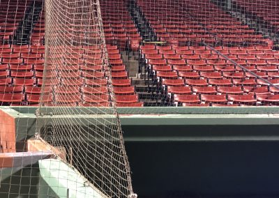 Major League Baseball Tension Safety Netting Systems