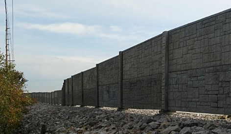 Missouri DOT Noise Walls on I-70