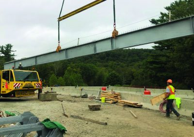 Temporary support, demo & erection plans for Sullivan County bridge 192