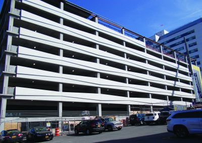 Buffalo-Niagara Medical Campus Parking Garage Precast Panels