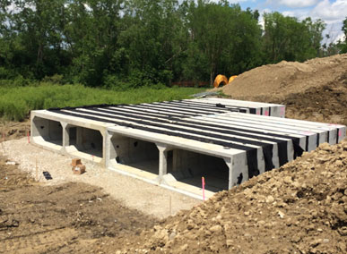 Pittsfield Township Underground Stormwater Retention System